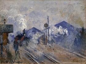 モネ《サン=ラザール駅の線路》s